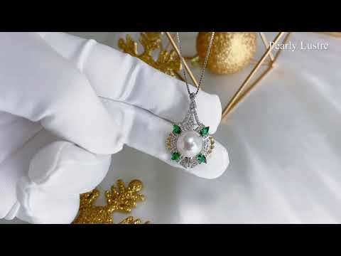 Pearly Lustre Elegant Freshwater Pearl Necklace WN00110 Product Video