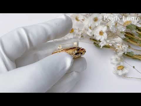 Pearly Lustre Passion for Life Freshwater Pearl brooch WC00001 Product Video