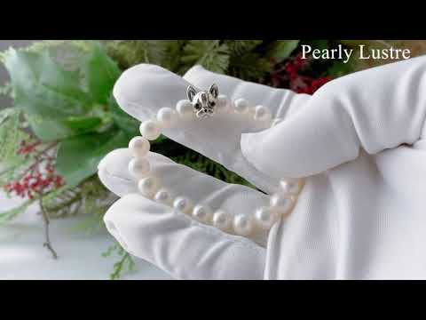 Pearly Lustre Wonderland Freshwater Pearl Bracelet WB00019 Product video