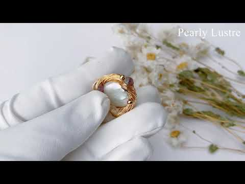 Pearly Lustre Passion for Life Freshwater Pearl Brooch WC00003 Product Video