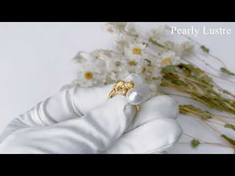 Pearly Lustre New Yorker Freshwater Pearl Ring WR00007 Product Video