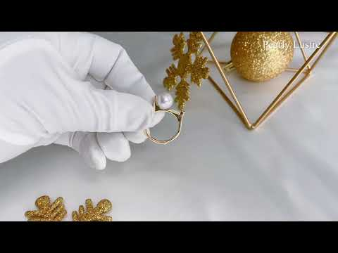 Pearly Lustre New Yorker Freshwater Pearl Ring WR00052 Product Video
