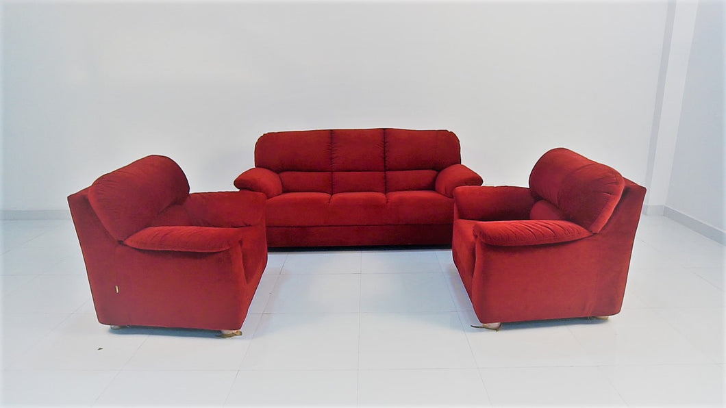 Rose Red Baloon Sofa