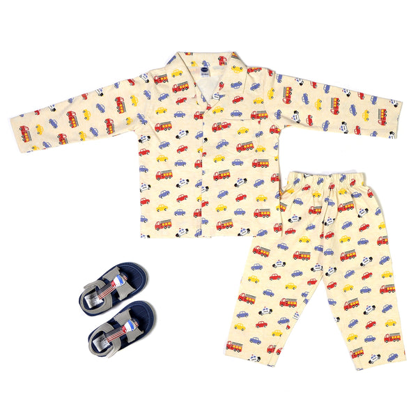 Boys Night Suit Cream