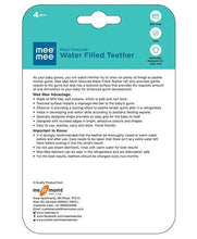 Load image into Gallery viewer, Mee Mee Silicone Water Filled Teether - Pintoo Garments