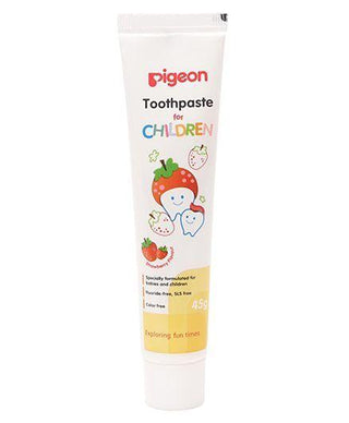 Pigeon Strawberry Flavoured Children Toothpaste - 45 Gm