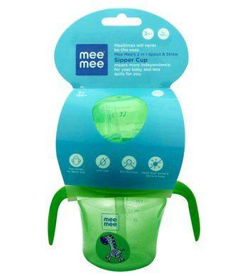 Mee Mee 2 in 1 Spout & Straw Sipper Cup 150ml