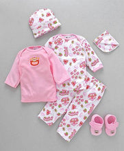 Load image into Gallery viewer, Clothing Gift Set Bear Embroidery-6 Pieces