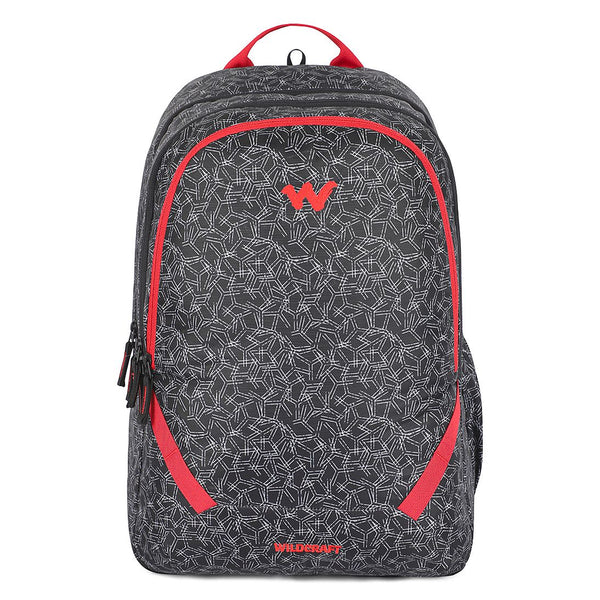 Wildcraft Bravo 2 Spyker Black & Red 44L