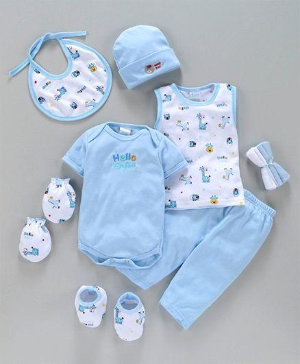 Infant Clothing Gift Set Pack of 9