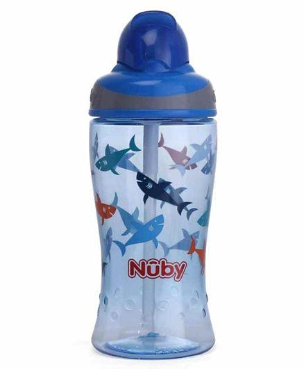 Nuby Flip It Boost Thin Straw Sipper - 360 Ml