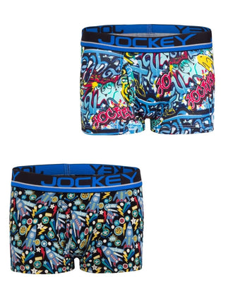 Jockey Assorted Prints Boys Trunk
