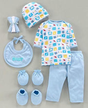 Load image into Gallery viewer, Clothing Gift Set Teddy Print-9 Pieces