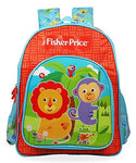 Fisher-Price 20 Ltrs Red Blue School Backpack (Fisher Price Red & Blue School Bag 36 cm)