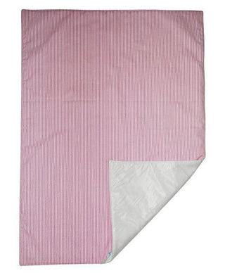 Diaper Changing Mat Striped - Pink