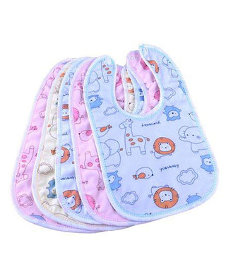 My Newborn Cotton Bibs Set of 5