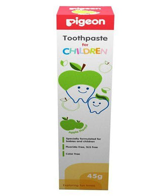 Pigeon Green Apple Flavoured Toothpaste - 45 Grams