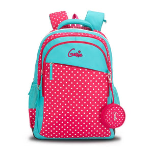 Genie Polka Attractive Outlook Bags 17 Inches 25 Ltrs