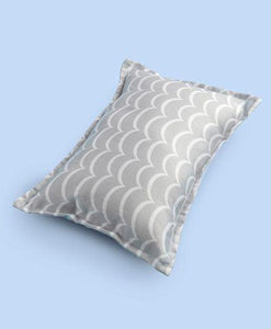Fancy Fluff Organic Rectangle Pillow Zig Zag Print