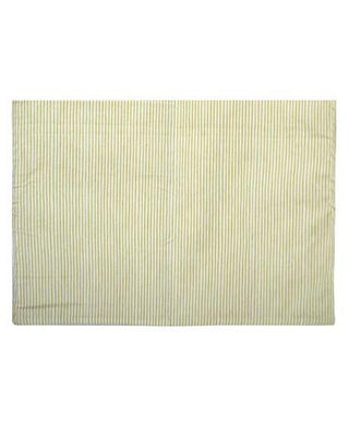 Diaper Changing Mat Striped - Green