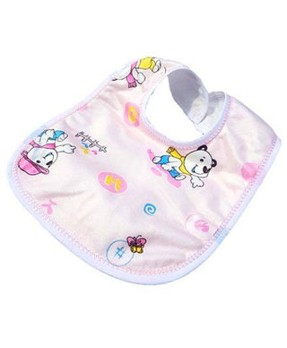 Double Layered Waterproof Bibs Set Of 5