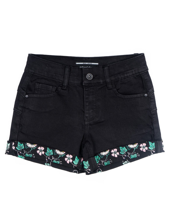 Girls Shorts Black