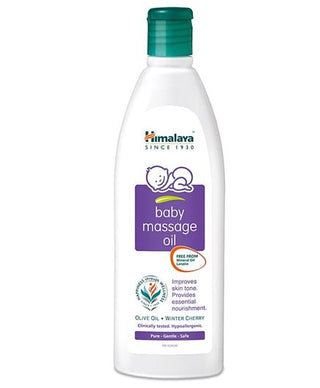 Himalaya Herbal Baby Massage Oil Bottle - Pintoo Garments