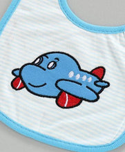 Load image into Gallery viewer, Bib Airplane Embroiderd