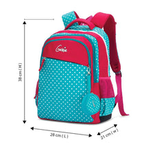 Load image into Gallery viewer, Genie Polka Attractive Outlook Bags 17 Inches 25 Ltrs