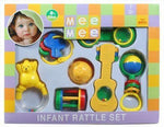 Mee Mee Infant Rattele Set Of 7 (Color & Design May Vary)