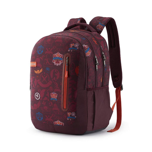 American Tourister Trafford 49 cms Red Casual Backpack (FR0 (0) 00 101)