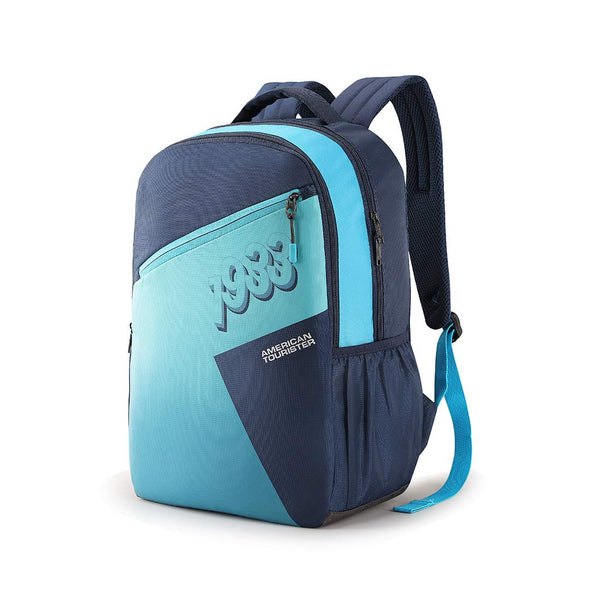 American Tourister Twing 29 Ltrs Blue Casual Backpack (FD0 (0) 01 001)