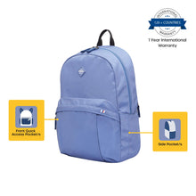 Load image into Gallery viewer, American Tourister Rudy 21 Ltrs Denim Blue Casual Backpack (GT1 (0) 51 001)