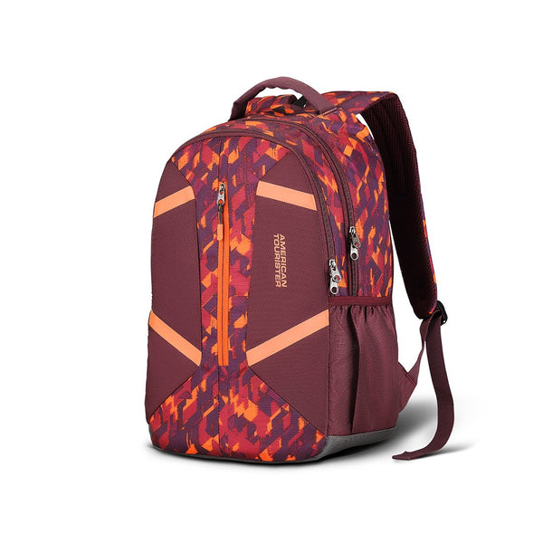 American Tourister Meso 49 cms Burgundy Casual Backpack (Fi2 (0) 20 002)