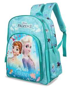 Disney 15 Ltrs Turquoise School Backpack