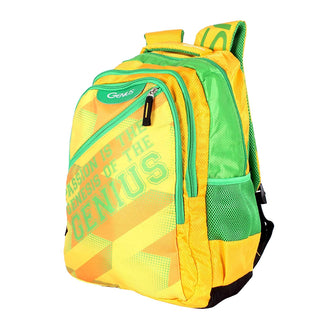 Genius 35 Ltrs Yellow Casual Backpack