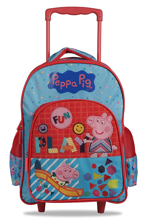 My Baby Excels Peppa Pig Pink Blue School Backpack T
