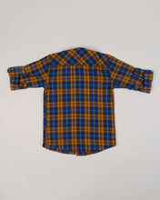 Load image into Gallery viewer, Boys Checks Shirt Yellow