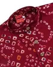 Load image into Gallery viewer, Boys Bandhani Print Kurta Suit Red