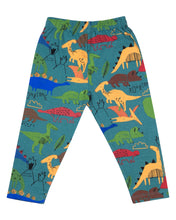 Load image into Gallery viewer, Boys Dinosaur Printed Green Night Suit