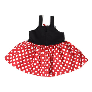 Girls Casual Frock Red