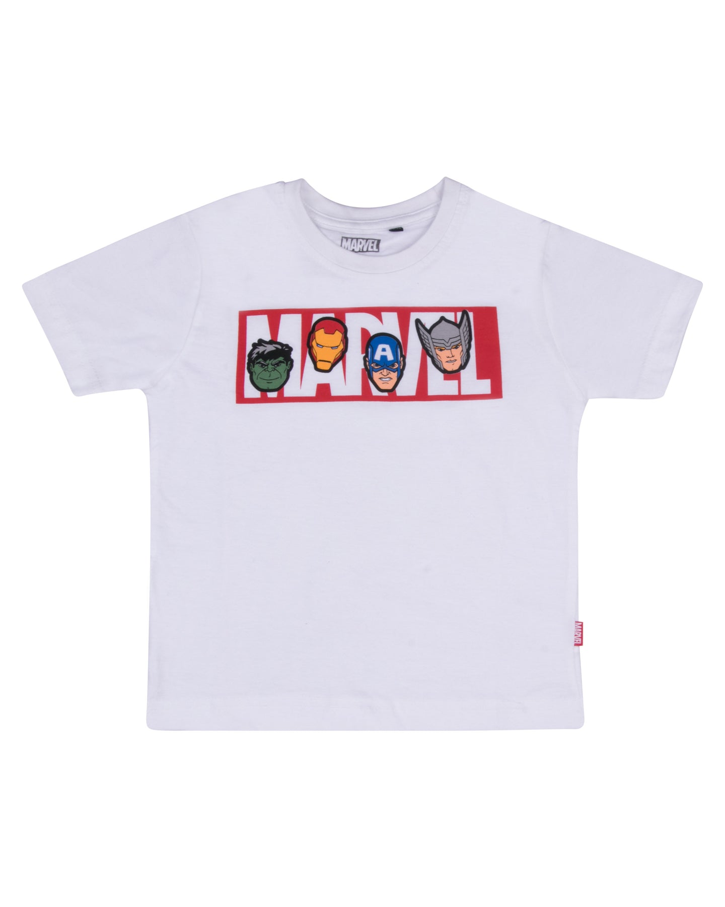 The Avengers White Casual T Shirt