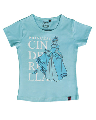 Girls Casual Top Light Blue