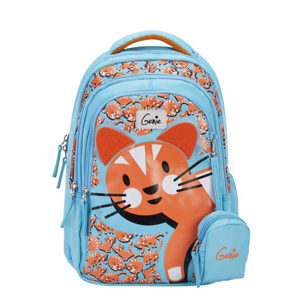 Genie Meow Attractive Outlook Bags 15 Inches 19 Ltrs