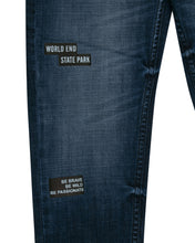 Load image into Gallery viewer, Boys Fashion Fix Waist Dark Blue Jeans