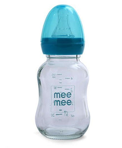 Mee Mee Premium Glass Feeding Bottle  - 120 ml