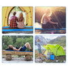 CAMTOA Self Inflating Sleeping Pad Inflatable Camping Mat Camp Lightweight Foam Padding Waterproof for Camping Hiking