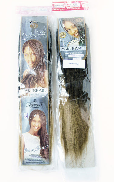 Sample Yaki Minky synthetic hair extension packet
