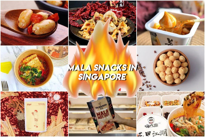 11 Mala Snacks In Singapore That Will Set Your Tongue Ablaze Including Mala Fish Skin & Mala Oden