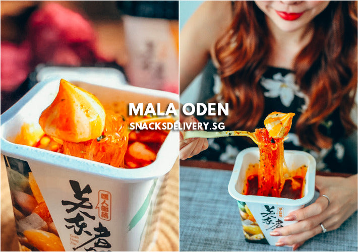 Mala Oden Review - The Most Popular Instant Mala Noodles In Singapore RN